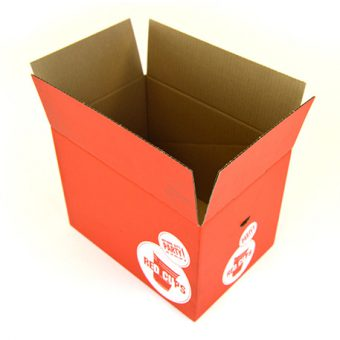 Corrugated boxes for Red Cups