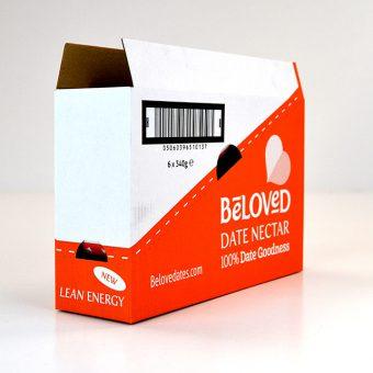 Die cut packaging - Beloved.Date_.Nectar