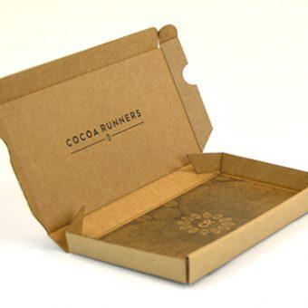 Die cut packaging Cocoa Runners