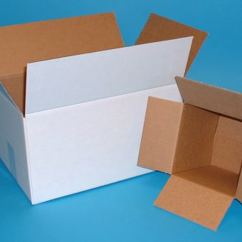 Corrugated boxes - white outer